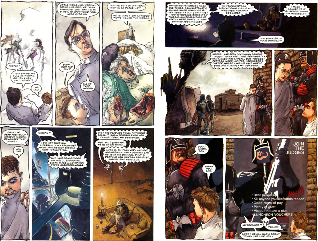 comics- extracts and discussions Death4