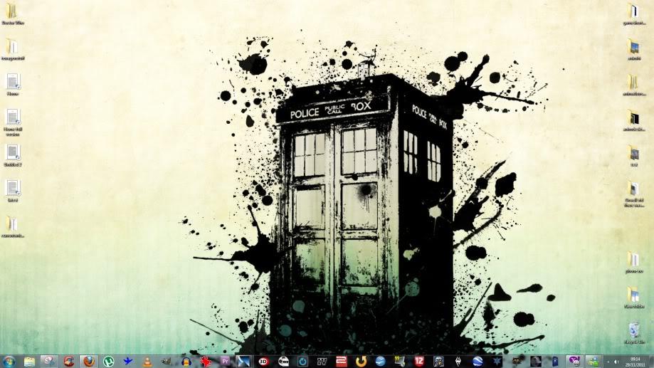 What's on your desktop? Desktop