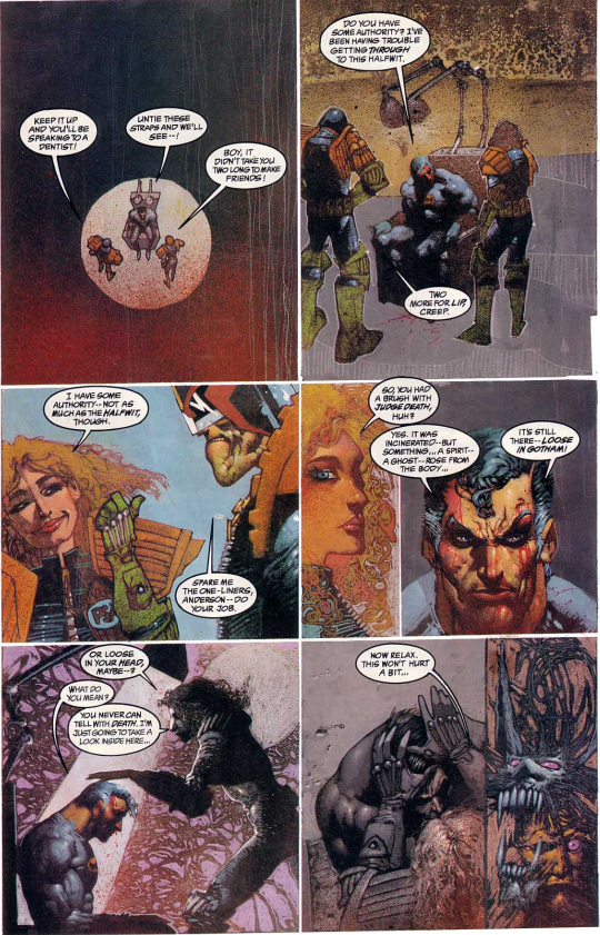 comics- extracts and discussions Goth3