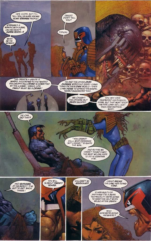 comics- extracts and discussions Goth5