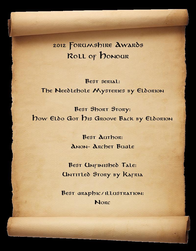 2012 Forumshire Awards Winners Scroll-stock2