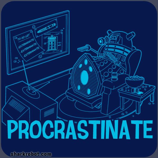 Doctor Who [3] - Page 38 Shirt_bamboota_procrastinate_LRG