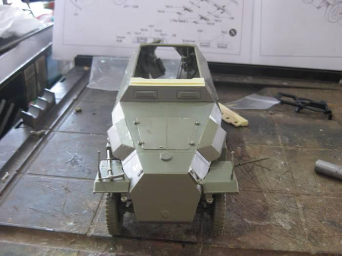 "SDKFZ 251/21 ausf.C ""drilling"" IMG_3436"