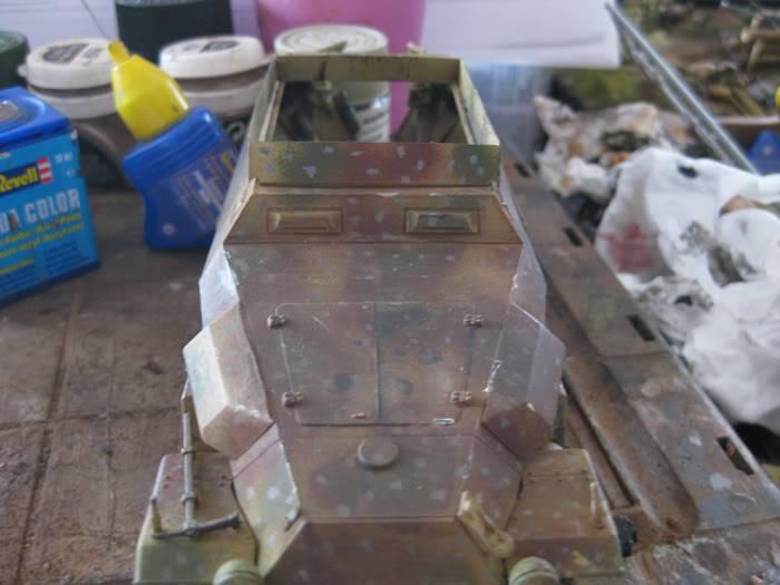 "SDKFZ 251/21 ausf.C ""drilling"" IMG_3461"