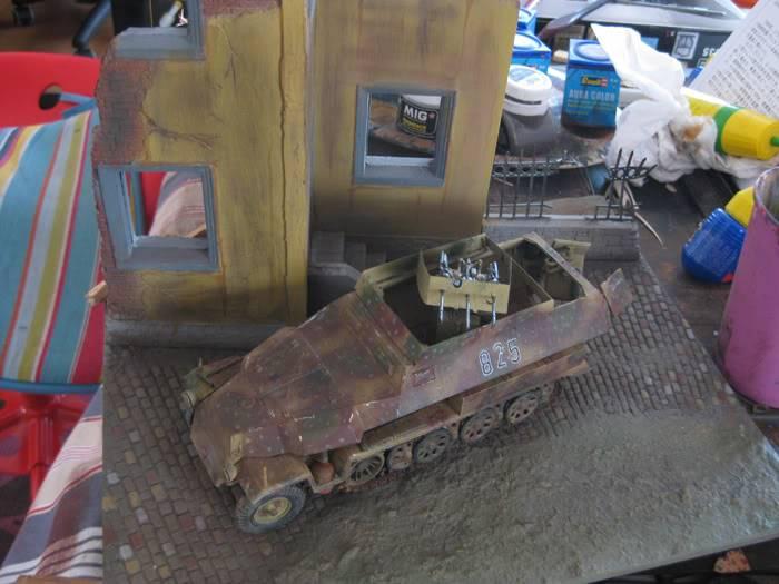 "SDKFZ 251/21 ausf.C ""drilling"" IMG_3493"
