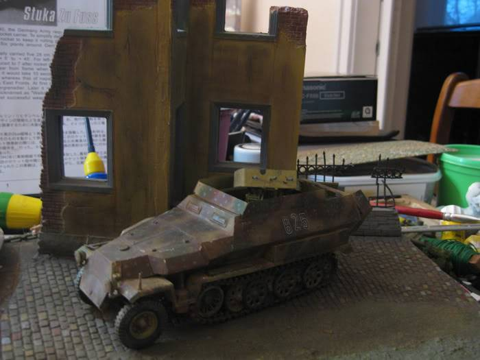 "SDKFZ 251/21 ausf.C ""drilling"" IMG_3494"