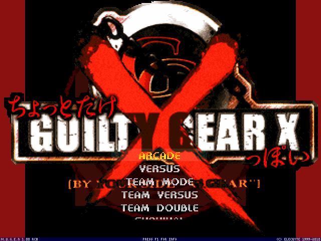 Guilty Gear X  Mugen000