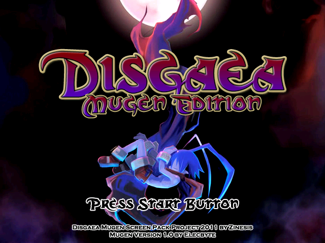 Disgaea Screen pack 1.0 Mugen002-5
