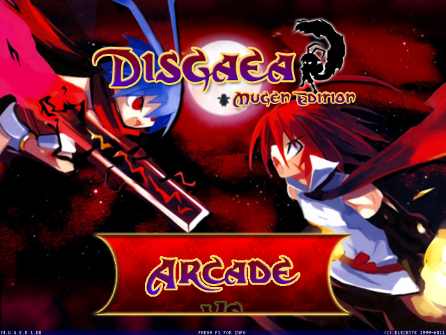 Disgaea Screen pack 1.0 Mugen003-3