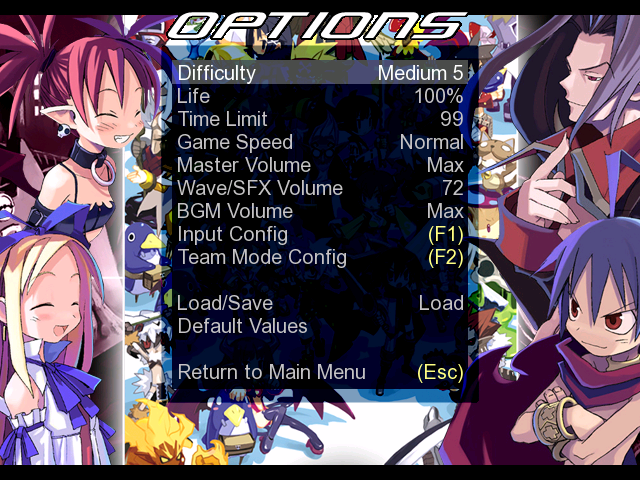 Disgaea Screen pack 1.0 Mugen004-5