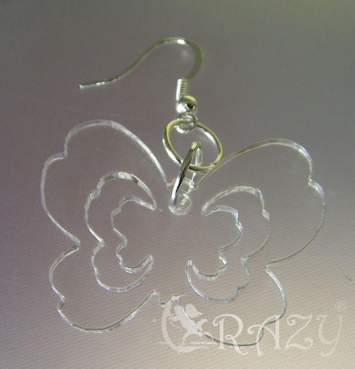 orecchini e non solo... estivi plexiglas e fantasia Orecchinofarfalla