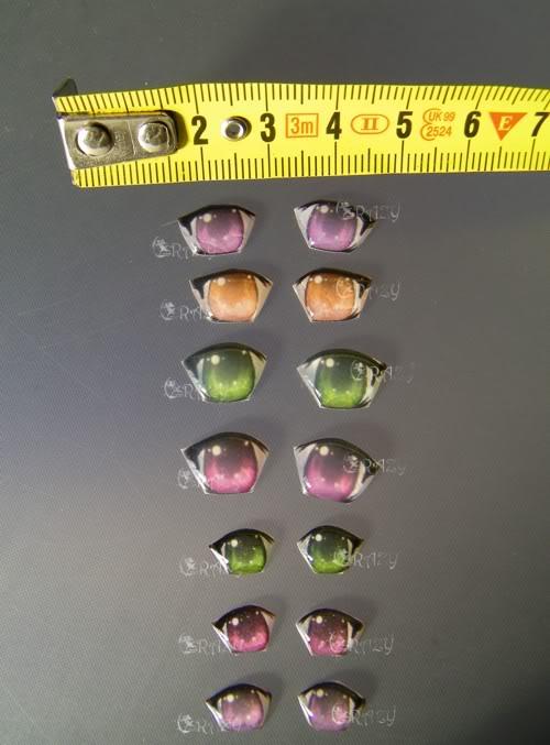 occhi per amigurumi e pupazzi in stoffa e bottoni creati da me vari Vinsieme