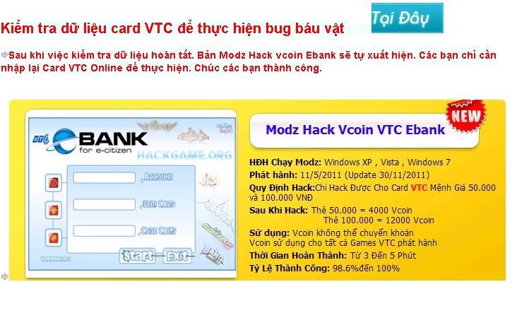 Hack Bug Báu Vật + MAX GP Đột kích (Crossfire)    5/3, 2012 6:50 pm    Huy4