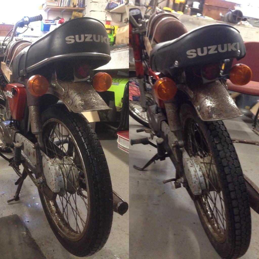 Suzuki A100  HUZY7431