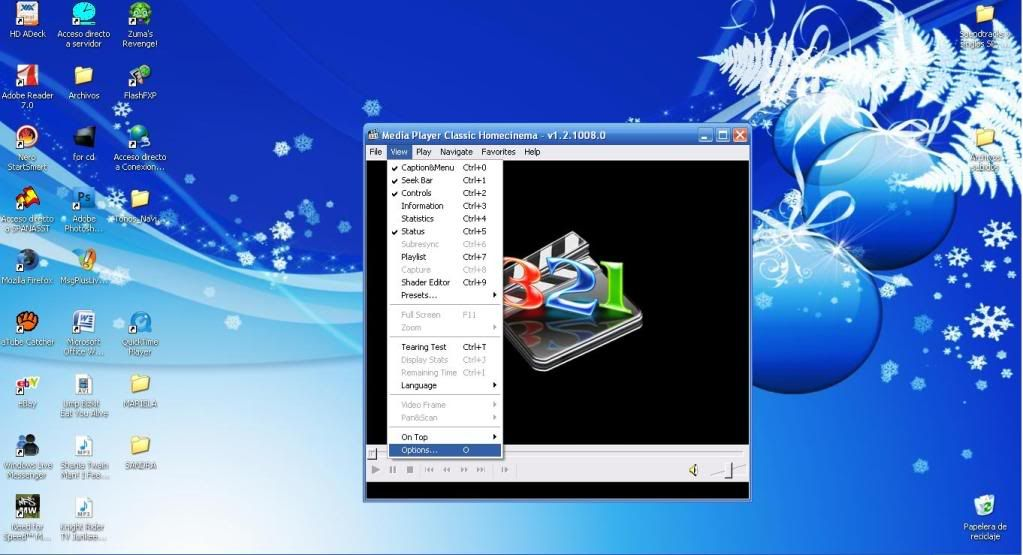 [Mini-tutorial]Tomar capturas con Media Player Clasic. 1-8