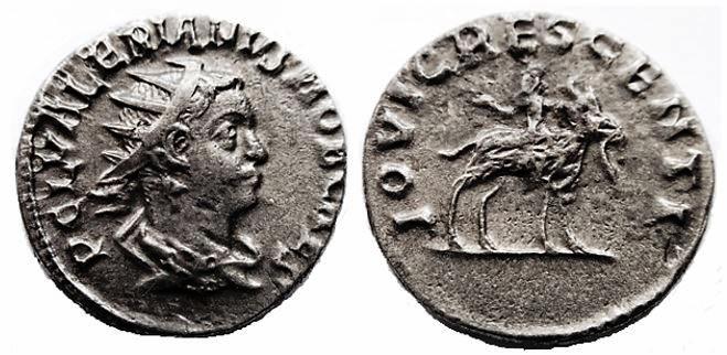 Antoniniano  de Valeriano II. IOVI CRESCENTI. Roma ValerianusIIARantoninianoRICV-I14_1_zpsae0af857
