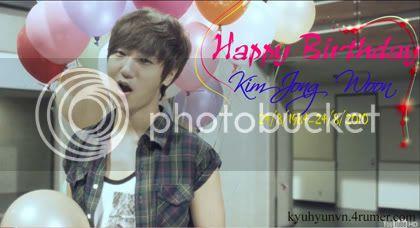 Happy Birthday Kim Jong Woon (24/8/2010) 5-1