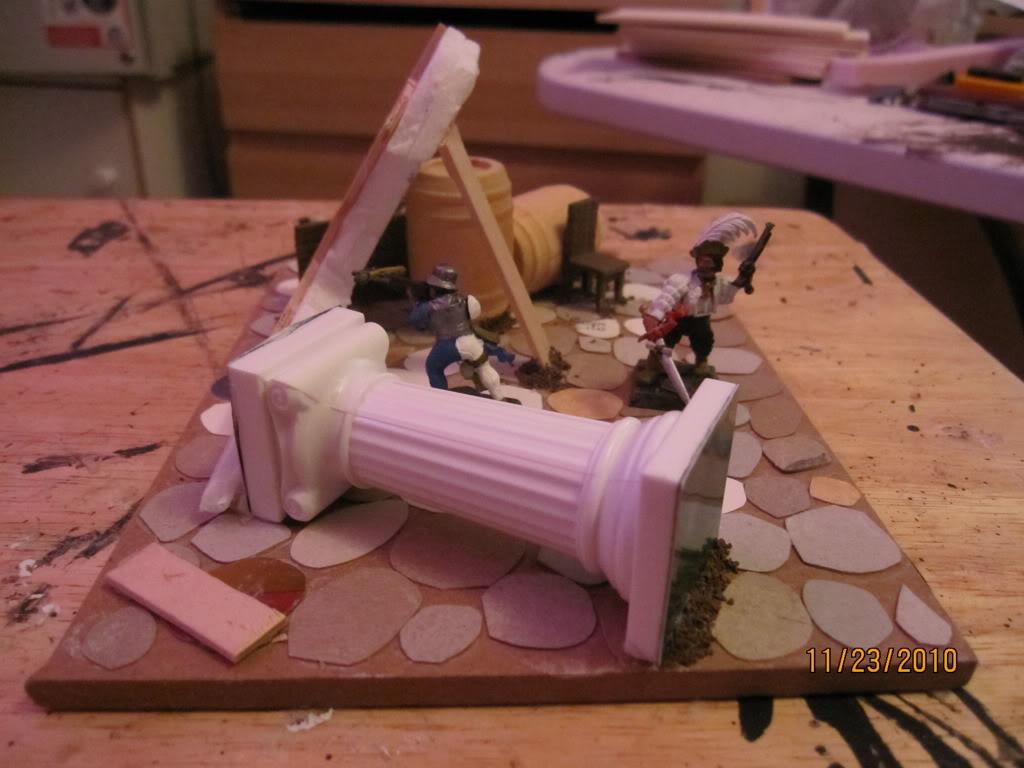 Flipchuck's  Mordheim terrain Unpaintedbuilding002
