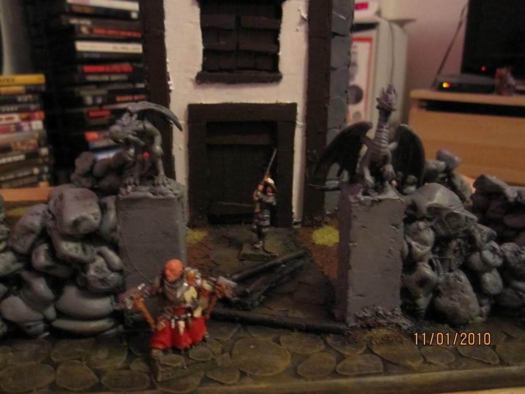 Flipchuck's  Mordheim terrain Mordheimgame020