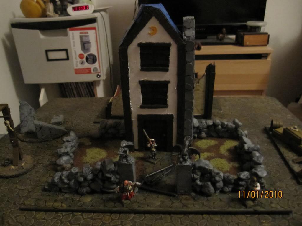 Flipchuck's  Mordheim terrain Mordheimgame037