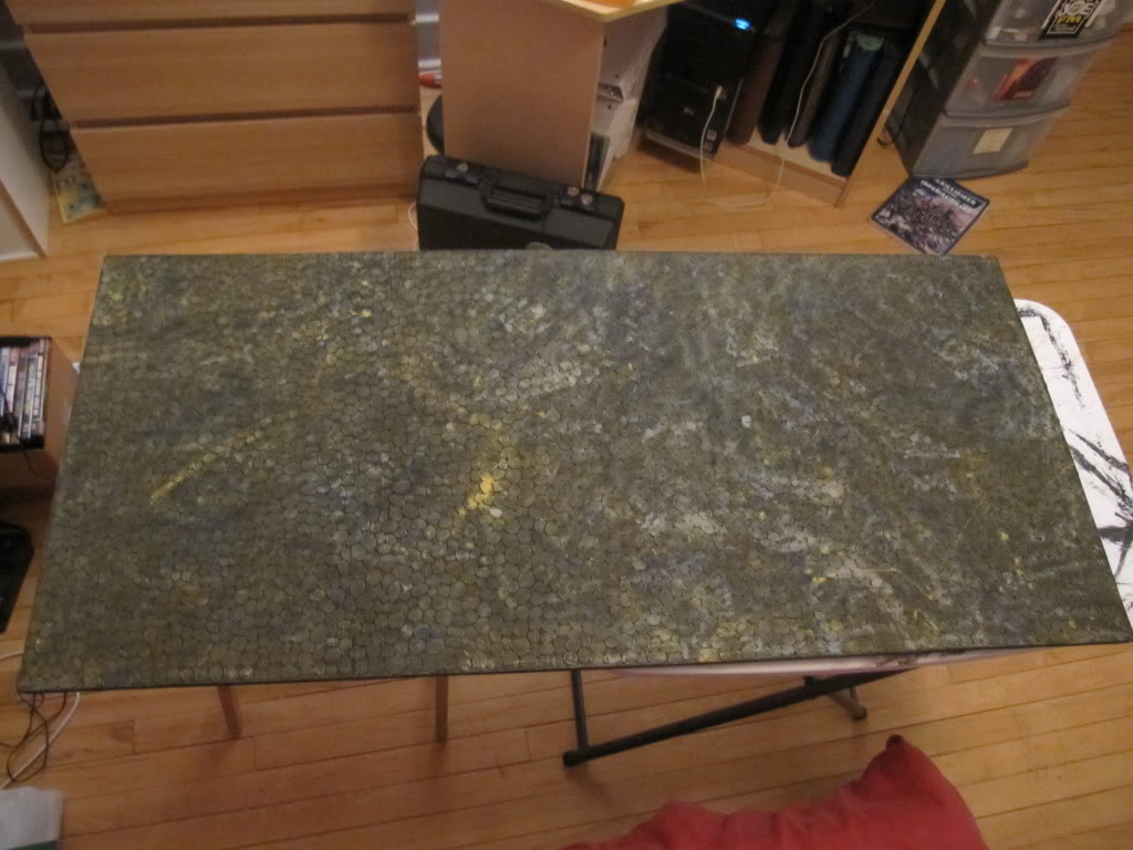 Cobble Stone Gaming Table IMG_1358