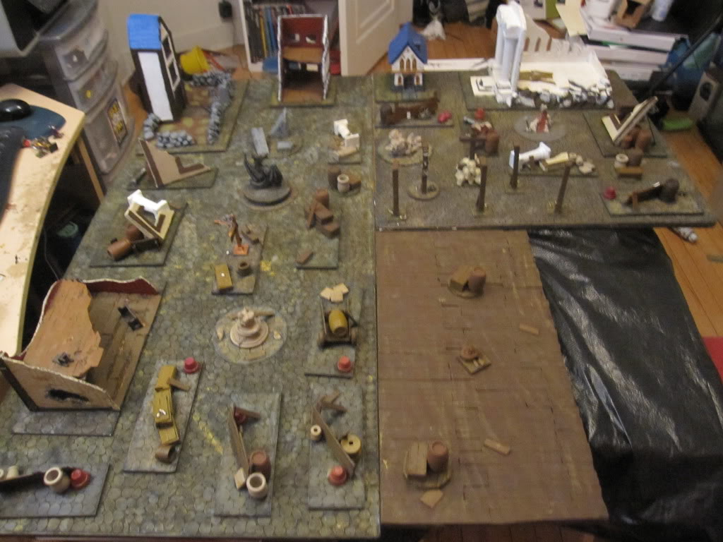 Cobble Stone Gaming Table IMG_1368