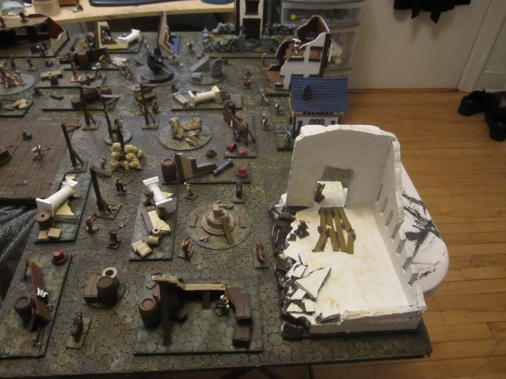 Cobble Stone Gaming Table IMG_1372