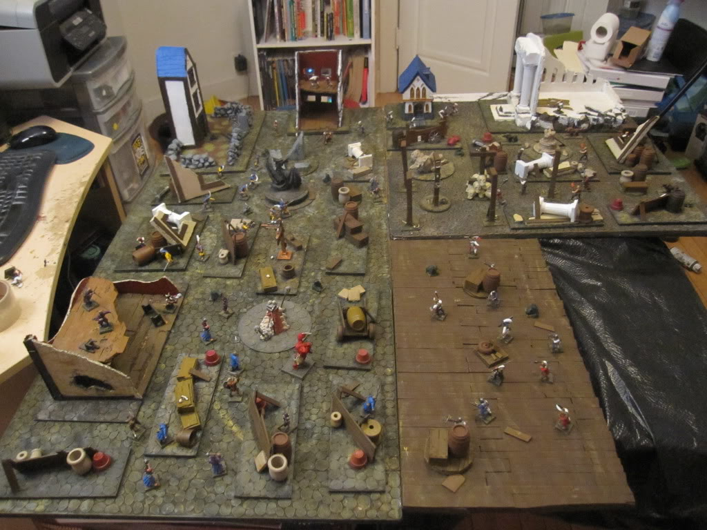 Cobble Stone Gaming Table IMG_1374