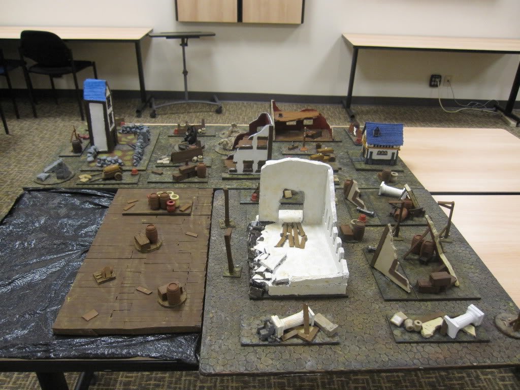 Cobble Stone Gaming Table IMG_1426