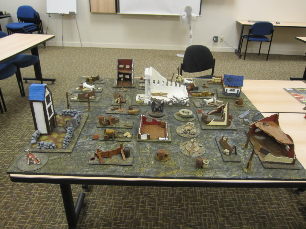 Cobble Stone Gaming Table IMG_1532
