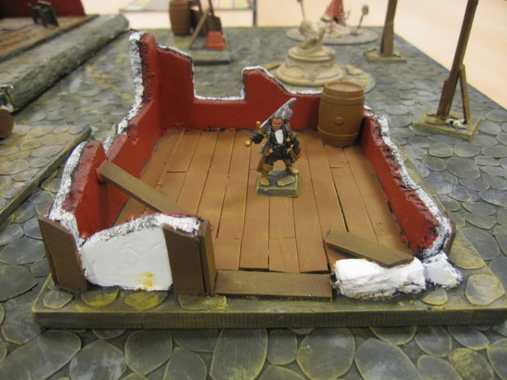 Cobble Stone Gaming Table IMG_1555