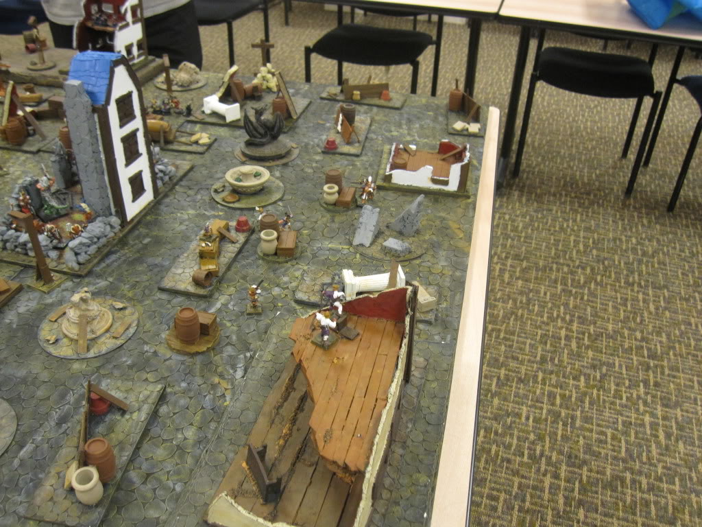 Cobble Stone Gaming Table IMG_1590