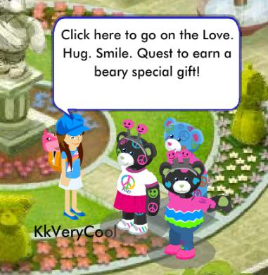Love Hug Smile Quest Quest1
