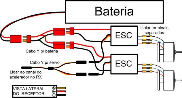 [DICA] Esquema para montagem da eletrônica Esquema-2-motores