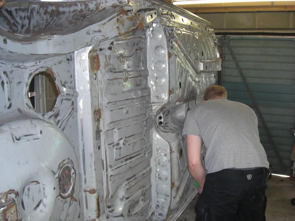 mk2 track car build 001