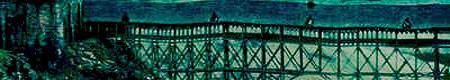 Puente colgante•