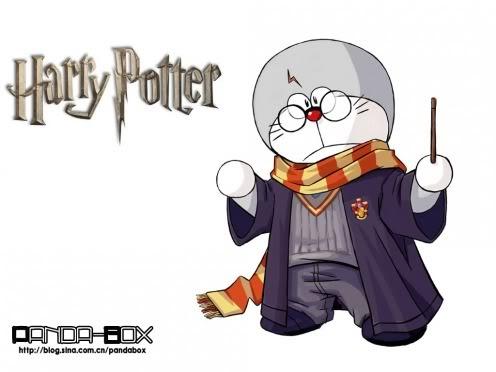 Doraemon Keren [Nyesel ga liat] 16-harry-potter