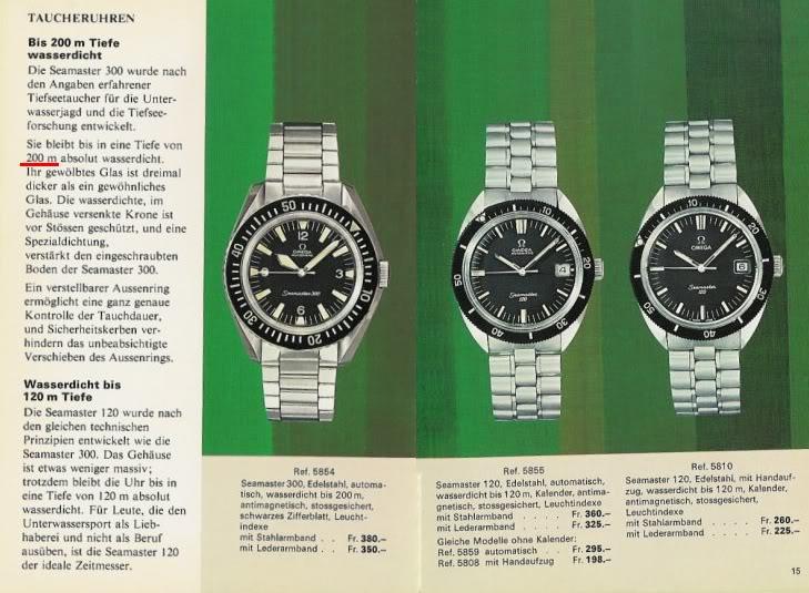 Historique de l'Omega Seamaster 300 - 165024 -  600_02