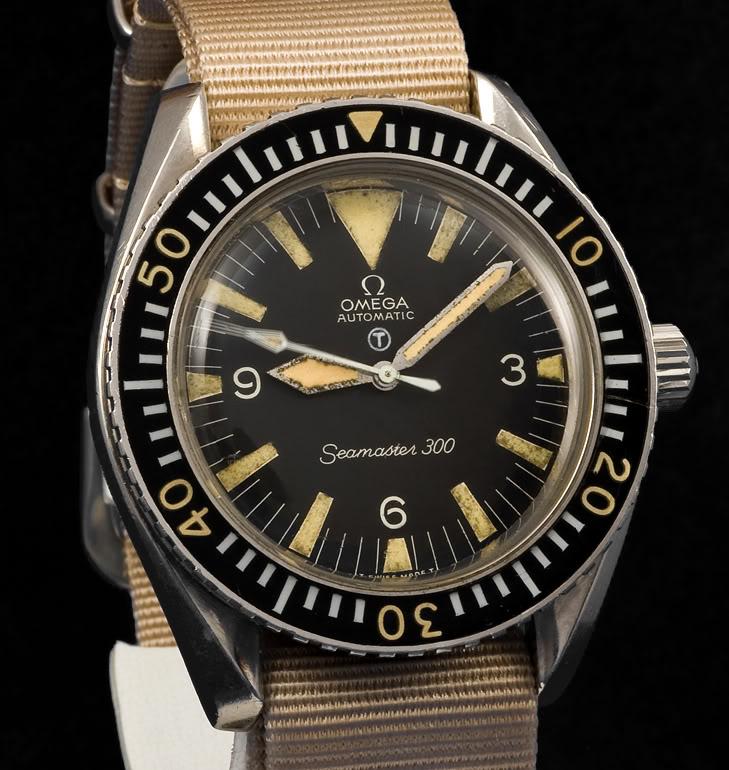 Historique de l'Omega Seamaster 300 - 165024 -  79737788-1