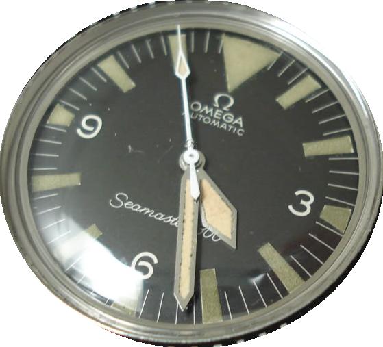 Historique de l'Omega Seamaster 300 - 165024 -  BT