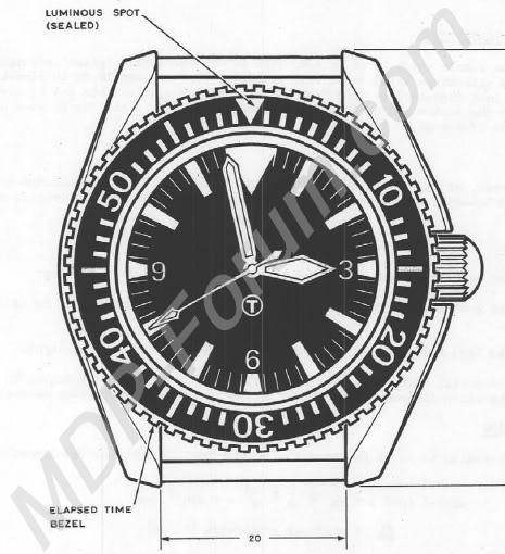 Historique de l'Omega Seamaster 300 - 165024 -  MOD7