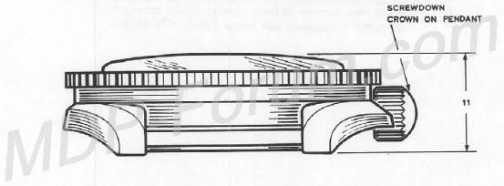 Historique de l'Omega Seamaster 300 - 165024 -  MOD8