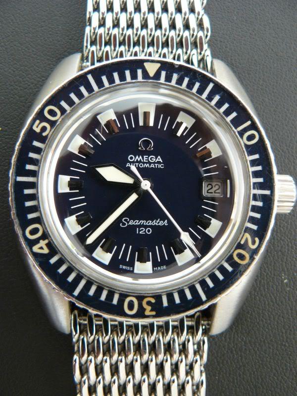 Historique de l'Omega Seamaster 300 - 165024 -  SM120_ludi13