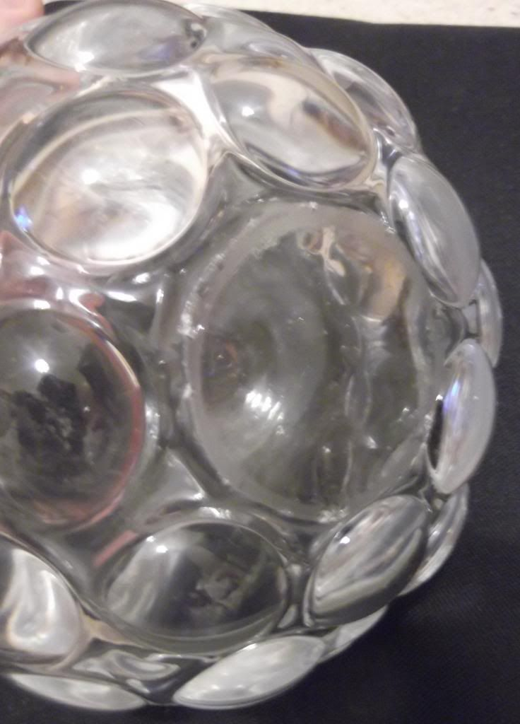 Heavy Clear Glass Bobble Vase - Bohemian? Scandi? DSCF3861_zps53d88592