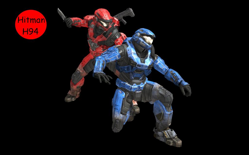 Halo Reach Beta Sprint, Assassination and Jetpack Reach_MPBeta_Assassinate