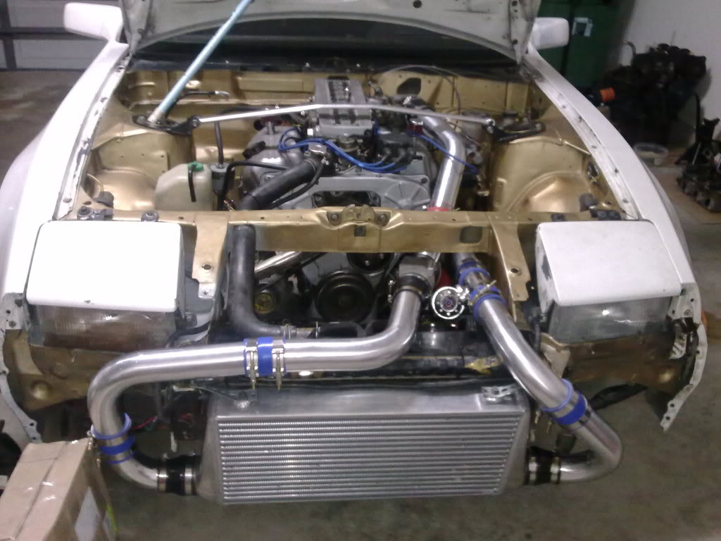 New turbo setup 300zx z31