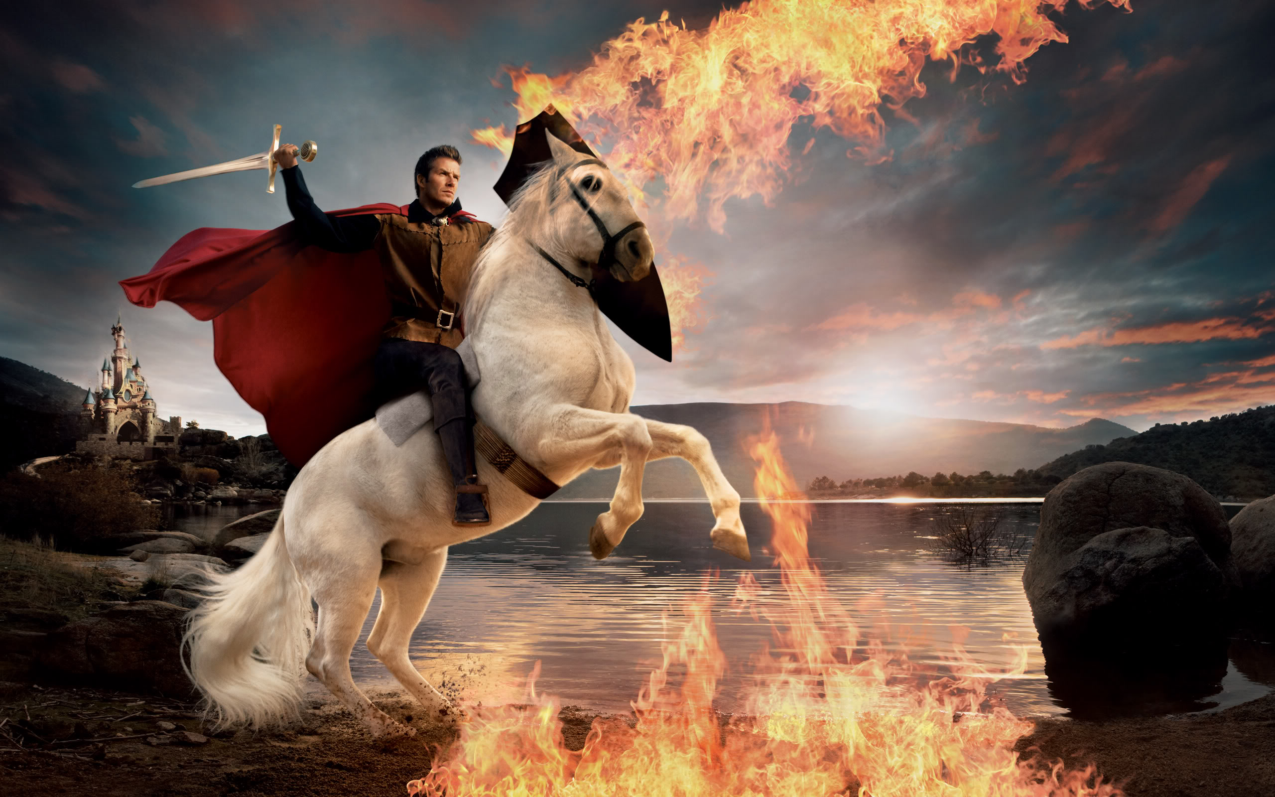 Horse | 馬 | Ngựa Prince-on-white-horse