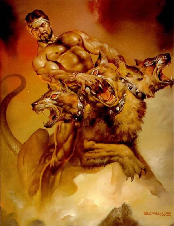 Những quái vật ác chiến nhất thần thoại Hy Lạp 10Cerberus