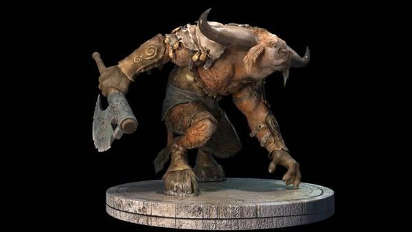 Những quái vật ác chiến nhất thần thoại Hy Lạp 1Minotaur