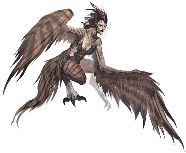 Những quái vật ác chiến nhất thần thoại Hy Lạp 4Harpies